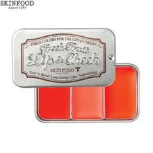 SKINFOOD Fresh Fruit Lip & Cheek Trio 2.5 g*3, Skinfood