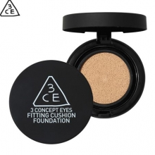 3CE Fitting Cushion Foundation 12g x2 (One full Pack + 1 Refill), 3CE