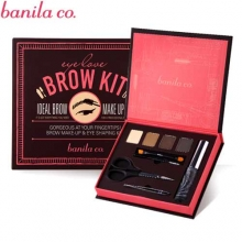 BANILA CO Eye Love Brow Kit [Eye Brow+Fixer+Brush+Tweezers+Scissors], Banila Co.