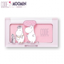 CODE GLOKOLOR X Moomin 2nd Edition N.Mono Cheek 3.5g, CODE GLOKOLOR