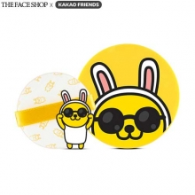 THE FACE SHOP X KAKAO FRIENDS Natural Sun Eco Baby Sun Cushion SPF34 PA++15g, THE FACE SHOP