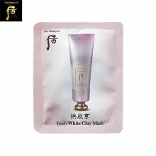 [mini] THE HISTORY OF WHOO Gongjinhyang Yeol : White Clay mask 4 ml*10ea (Wash Off), THE HISTORY OF WHOO