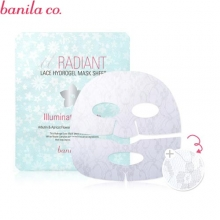 BANILA CO. Radiant Lace Hydrogel Mask Sheet Illuminating 30g, BANILA CO.
