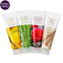 HOLIKAHOLIKA Daily Garden Cleansing Foam 120 ml (New), HOLIKAHOLIKA
