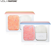 VDL PANTONE  Expert Color Cheek Book Mini 9.5g,  VDL