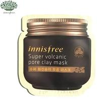 [mini] INNISFREE Super volcanic pore clay mask 4ml*10ea, INNISFREE