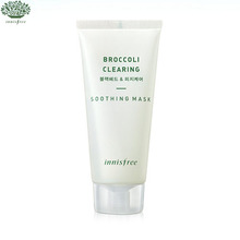 INNISFREE Super Food Broccoli Clearing Soothing Mask 100ml, INNISFREE