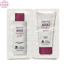 [mini]  ETUDE House Berry AHA! Bright Peel 2 Items 3ml+3ml*10ea [Berry AHA Bright Peel Mild Gel+ Berry AHA Bright Peel Boosting Serum], ETUDE HOUSE