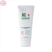 ETUDE HOUSE AC Clean Up Daily Acne Foam Cleanser 150ml , ETUDE HOUSE