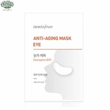 INNISFREE Anti Aging Mask Eye (Coenzyme Q10) 1.5g *2sheets, INNISFREE