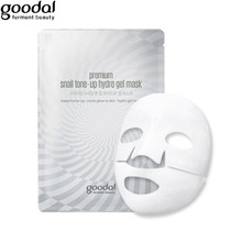 GOODAL Premium Snail Tone-up Hydro Gel Mask 35g [Brightening Cosmetic], GOODAL