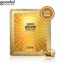 GOODAL Premium Gold Snail Hydro Gel Mask 35g [Brightening & Anti-wrinkle Cosmetic], GOODAL