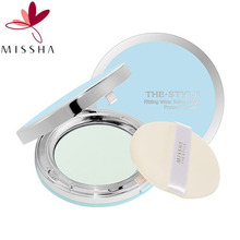 MISSHA The Style Fittingwear Sebum Cut Pressed Powder 11g (Sebum control Finish powder) #02 Clear Peach, MISSHA