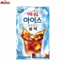 DONGSUH Maxim Ice Black Coffee Mix 6.2g x 20 Sticks, DONG SUH