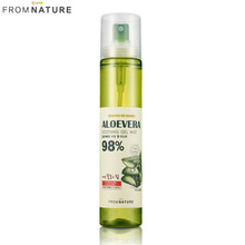 FROM NATURE Aloe Vera Moisture Soothing Gel Mist 120ml, WELCOS FROM NATURE