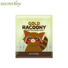 SECRET KEY Gold Racoony Hydro Gel Mask 30g, SECRET KEY