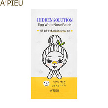 A'PIEU Hidden Solution Egg White Nose Patch 1sheet, A'Pieu