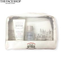 [mini] The face shop The Therapy Anti-Aging Formula Travel Kit  3items with Pouch, THE FACE SHOP