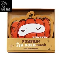 TOO COOL FOR SCHOOL Pumpkin 24k Gold Mask Set(25g x 10ea), TOO COOL FOR SCHOOL