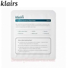 KLAIRS Rich Moist Soothing Sheet Mask 23ml, KLAIRS