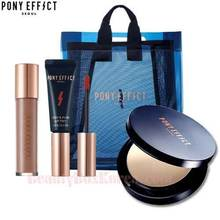 PONY EFFECT Mattifying Blur pact and Tint Set with Free Clear Bag 4items
