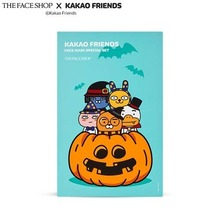 THE FACE SHOP KAKAO FRIENDS Mask Sheet  Halloween Special Set 20ml*5ea, THE FACE SHOP