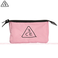 3CE PINK RUMOUR POUCH _Small 1ea,3CE,Beauty Box Korea