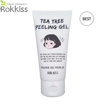 ROK KISS Tea Tree Peeling Gel 120ml [NEW], ROK-KISS