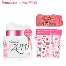 BANILA CO. Clean It Zero 180ml [Pink Panther Limited] with Pink Panther Free Gift(Hair band & deco sticker), BANILA CO.