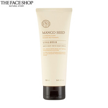THE FACE SHOP Mango Seed Cleansing Foam 150ml, THE FACE SHOP