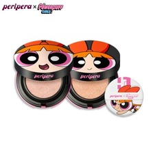 PERIPERA Ink Lasting Pink Cushion 14g [Powerpuff Girls Limited], PERIPERA