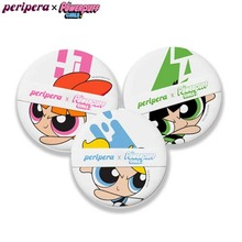 PERIPERA Cushion Puff Set 3pcs [Powerpuff Girls Limited], PERIPERA