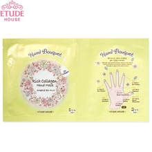 ETUDE HOUSE Hand Bouquet Rich Collagen Hand Mask, ETUDE HOUSE