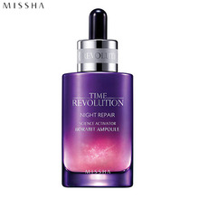 MISSHA Time Revolution Night Repair Science Activator Ampoule 50ml (Borabit Ampoule), MISSHA