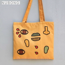 NUBONG Nuvento X Campergraphic Camp Eco Bag Face, NUBONG