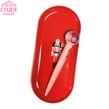ETUDE HOUSE My Little Nut  Snow Ball Pen and Pen Tray 2items, ETUDE HOUSE