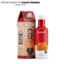 THE FACE SHOP KAKAO FRIENDS Holiday The Signature Conditioning Serum 130ml(Large) , THE FACE SHOP