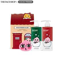 THE FACE SHOP KAKAO FRIENDS Holiday Special Body Care Set 300ml+300ml+1ea(3items), THE FACE SHOP
