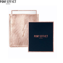 PONY EFFECT Hand Mirror(Gold Pocket) 1ea, PONY EFFECT