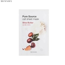 MISSHA Pure Source Cell Sheet Mask 21g,Beauty Box Korea