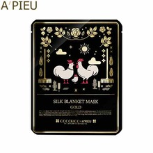 A'PIEU Silk Blanket Mask Gold 23g [Cocorico Edition], A'Pieu