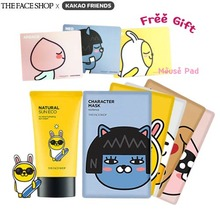 THE FACE SHOP Kakao Friends Limited Value Set #2 + Kakao Friends Mouse Pad,Own label brand,Beauty Box Korea