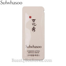 [mini] SULWHASOO GOA Everefine Lifting Ampoule Serum 1ml*10ea, SULWHASOO