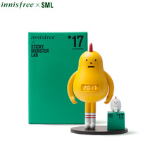 "INNISFREE Sticky Monster Lab LED Clock 1ea [""Good Luck Sticks with You"" Limited], INNISFREE"