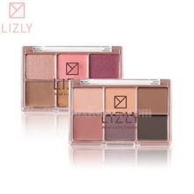 LIZLY What a lovely palette & What a chic palette 9g
