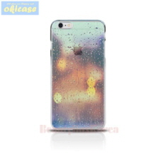 OKICASE Jelly Phone Case Rainy Car Window,Beauty Box Korea