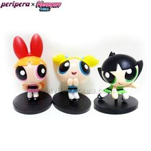 PERIPERA Poewepuff Girls Figure 1ea [Powerpuff Girls Limited], PERIPERA