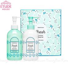 ETUDE HOUSE Colorful Scent Perfumed Body Set -Fresh 300ml*2ea
