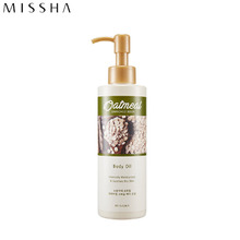 MISSHA Oatmeal Enriched Body Oil 200ml, MISSHA