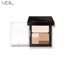 VDL Mule Contour Finish Palette Highlighting Powder 10g + Shading Powder 9g